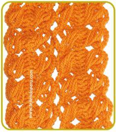 Unión de tiras tejidas en horquilla (hairpin lace)
