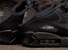 "Nike Air Max 90 CMFT PRM Tape ""Reflect"" - Black - Metallic Silver - SneakerNews.com"
