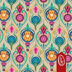 Buy Suzani-Inspired Ogee Floral on Cream Bac custom fabric, wallpaper and home accessories by tasha_goddard_designs on Spoonflower Plate Design, Fabulous Fabrics, Custom Wallpaper, Wall Treatments, Fabric Swatches, Fabric Patterns, Surface Design, Custom Fabric, Spoonflower