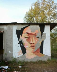 Rarely active on the streets, Xabier XTRM is back with a new piece which was recently completed on the streets of Villabona, a village of over 5500 inhabitants in the comarca of Tolosaldea, Gipuzkoa province, Basque Country.
