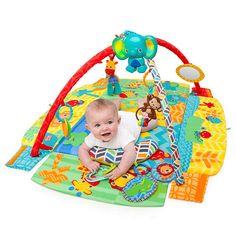 BuyBright Starts Sensory Sunny Safari Baby Activity Gym Online at johnlewis.com
