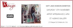 Katy Jade Dobson Artwork and Meet The Artist Exhibition at Gallery Rouge St Albans