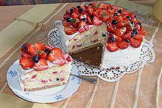 Erdbeer - Vanille - Torte (Rezept mit Bild) von Heddu | Chefkoch.de