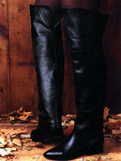 spiegel89_011 Vintage Boots, Riding Boots, Heeled Boots, Knee Boots, Heels, Fashion, Horseback Riding, Leather, Horse Riding Boots