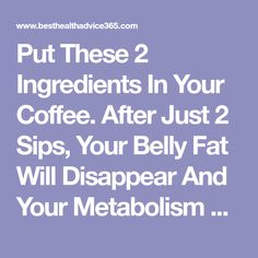 Put These 2 Ingredients in Your Coffee. After Just 2 Sips, Your Belly Fat Will Disappear And Your Metabolism Will Be Faster Than Ever! - Organic Remedies Tips Advantages Of Coconut Oil, Recetas Light, Reduce Blood Sugar, Protect Your Heart, Morning Drinks, Improve Metabolism, Cholesterol Levels, Burn Belly Fat, Diets