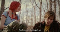 Eternal Sunshine of The Spotless Mind. Its on my top 5 all time favorite movies list.