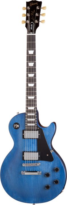 Gibson Les Paul Studio Faded Blue Stain: SO bEAUTIFUL