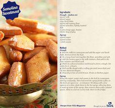 Semolina Sweetmeats #Recipes