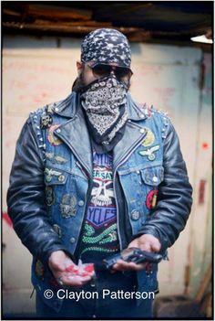 The New York Hardcore Chronicles 1979-2015  Cochise, founder of the Satans Sinners Nomads . One of the last street gangs in the Lower East Side in the late 1980's.
