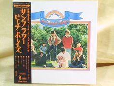 CD/Japan- THE BEACH BOYS Sunflower w/OBI RARE MINI-LP 2008 reissue TOCP-70531 #PopRock