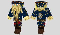 Davy Jones Skin para Minecraft