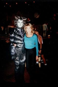 Munkustrap And Gillian Lynne Cats The Musical Costume, Cats Musical, Musical Theatre, Cats That Dont Shed, Jellicle Cats, Cat Movie, Anxiety Cat, Friday Humor, Funny Friday