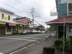 Pahoa, Hawaii, the small town where I went to school during my 3-7th grade years.