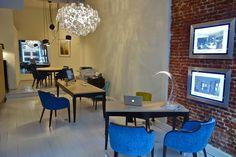 Intérieur de notre bureau / Our office