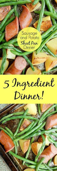 sausage and potato sheet pan dinner (sweetandsavoryfood.com)