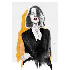 R E D L I P S 💄 http://bajolaslilas.com/la-importancia-del-labial-rojo/ #fashionillustration #fashionillustrator #illustration #fashion #drawing #sketch #redlips #watercolor #pencil #portait #hands #ink #acrylics