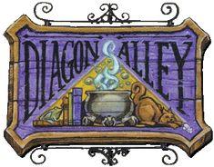Diagon Alley...diagonally..get it?!