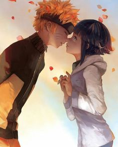 This is probably my favorite fan art, Naruto and hinata ♥