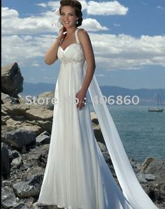 I think this would be perfect for a beach wedding..love it