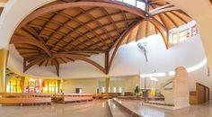 Copertura in legno - Chiesa di San Pio - Costantini Sistema Legno