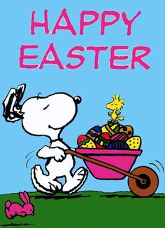 Happy Easter from Snoopy