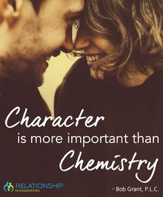 Chemistry can be captivating – especially in the beginning stages of a relationship. But what happens when everyday life sets in and 24/7 chemistry fades? Character is truly more important than chemistry. Click to learn how to uncover the true character of your man.