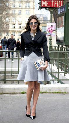 Dressed in Dior at Paris Fashion Week