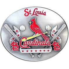 St. Louis Cardinals MLB Enameled Belt Buckle