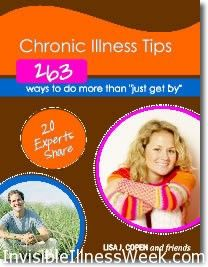 Living With Illness? Download Link for Chronic Illness Tips Ebooks