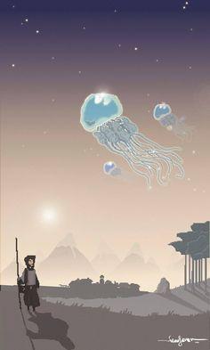 "Giacomo ""Cans-One"" Ganduglia - Stardropper Jellyfish - pixel art - graphic design - #masonry #massoneriacreativa #brotherhood - www.massoneriacreativa.com"