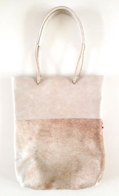 Shopper Touwhengsel Ultra Light Cow Handmade leather bags Cowskin