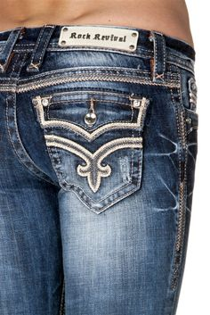 Details about ROCK REVIVAL Women&39s Denim - JEN B29 Jeans - Boot