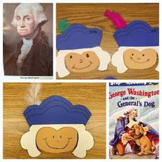cute George Washington craft, and a link to a short video on Washington and Lincoln