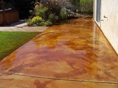 Superb More Acid Stained Concrete..way Cool.