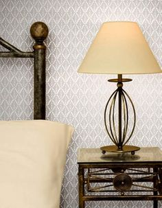 A single colour surface print of small scale stylised leaves - Lee Priory is a Victorian pattern with a Gothic character. Demure and dainty. Off white on pale French grey. Gothic Characters, Victorian Pattern, Victorian Wallpaper, Inspirational Wallpapers, Cole And Son, Designer Wallpaper, Pattern Wallpaper, Monochrome, Sconces