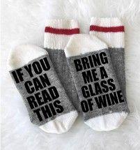 Wine Socks - Merino Wool