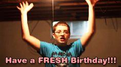 Have fresh Birthday GIF animation