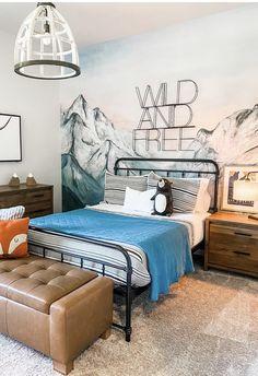 Kids Bedroom Boys, Boys Bedroom Themes, Boys Bedroom Paint, Big Boy Bedrooms, Boy Room, Boys Room Ideas, Little Boy Bedroom Ideas, Cool Boys Room, Teen Bedroom