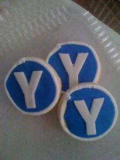 """""""Y"""" Sugar Cookies"""