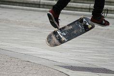 Skateboarding and rollerblading at George Square, Edinburgh     www.aspectsclothing.com