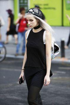 Street Style New York Fashion Week Verão 2017