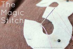 The Magic Stitch: Hand Stitching Tutorial
