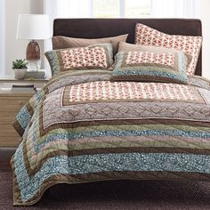 Hartley Patchwork Quilt   The Company Store