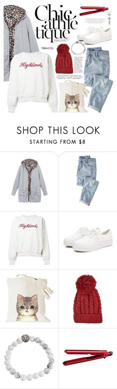 """Newchic"" by mada-malureanu ❤ liked on Polyvore featuring Wrap, Étoile Isabel Marant, BaByliss, women's clothing, women, female, woman, misses, juniors and newchic"