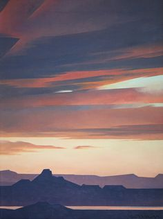 Mell, Ed - SOLD Ed Mell - Untitled Landscape