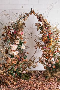 Ceremony Arch, Wedding Ceremony, Floral Wedding, Wedding Bouquets, Fall Wedding Arches, Floral Arch, Floral Garland, Theme Color, Fall Flowers