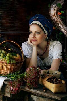 Russian beauty.