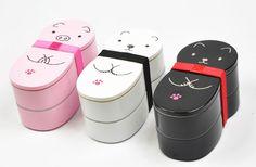 Animal Doll Bento Boxes