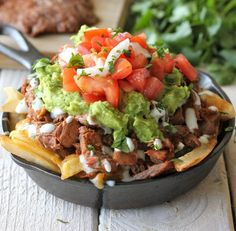 Carne Asada Poutine - Reeve and Kristen would love this.