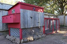 Good chicken coop idea.